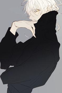 Cute Anime Character, Character Art, Character Design, Anime Guys, Manga Anime, Anime Art, Pretty Drawings, Cool Drawings, Dead Beautiful