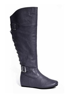 Carrini Back Lace-Up Boot