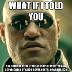 ...without input from parents. Common Core is education without representation! Click the link to learn more!