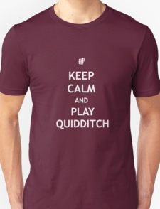 Keep Calm and Play Quidditch T-Shirt