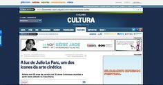 Medio Globo http-/oglobo.globo.com/cultura/a-luz-de-julio-le-parc-um-dos-icones-da-arte-cinetica-10339692tiff