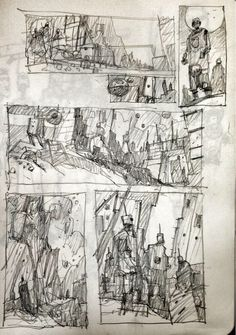 Some concepts sketch from Ian Mcque
