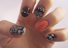 glamour:  Glamour x Jenny Pasha nail art, inspired by Jason Wu's...