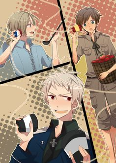 "B.T.T. Prussia looks so confused, like, ""How the * did I end up with two?"""