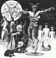 Exploring the dark and the occult Female Demons, Evil Demons, Baphomet, Arte Horror, Horror Art, Demon Summoning Spells, Maleficarum, Satanic Art, Dark Artwork