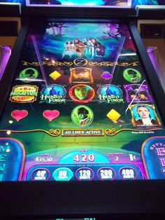Wizard Of Oz Haunted Forest Penny Slot Machine