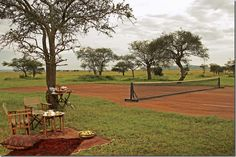 #Tennis #court in the #Serengeti Posted on cotedetexas.blogspot.com