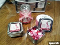 Do it yourself baby shower favor tutorial. Fun and inexpensive!