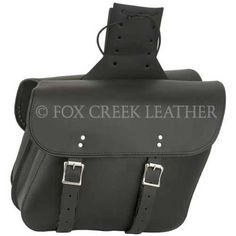 Leather Motorcycle Saddlebags | $256.00 | Fox Creek Leather Carries Only The Highest Quality, Made in USA Leather Motorcycle Jackets, Products, Clothing Leather Goods.