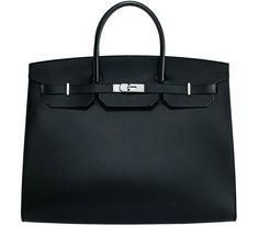 There's a brand new Hermes Birkin in town, and this one is a modern minimalist.