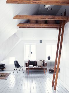 Make even your tall spots count- Why this white Swedish home goes directly into my inspiration folder? | 79 Ideas