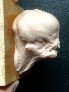 Alien/ super sculpey/2,5 inches