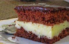 Η απόλυτη τούρτα!!! Το γλυκό στο οποίο κανείς δεν μπορεί να αντισταθεί! Σοκολατένιο παντεσπάνι, βελούδινη κρέμα ζαχαροπλαστικής στη μέση, και στην κορυφή μια πλούσια κρέμα σοκολάτας! Υλικά: Loading... Για το παντεσπάνι: 8 αβγά 2 ποτ. ζάχαρη 2 ποτ. αλεύρι 1 μπέικιν 6 κ.σ. κακάο 6 κ.σ. νερό Για το σιρόπι: 1 ποτ. γάλα 1 ποτ. …
