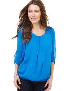 Love this top from The Limited...the color is fabulous!
