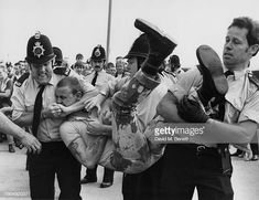 Police restraining a skinhead during a disturbance in Southend-on-Sea, Essex, September Get premium, high resolution news photos at Getty Images Essex Police, Skinhead, Captain Hat, Punk, Inspiration, Image, News, Art, Biblical Inspiration