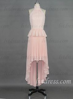 This is an elegant wedding guest dress graceful sleeves. Enhance your good figure with this beautiful chiffon dress. The simple a-line design modifies your body. With the Floor-length skirt, this dress makes you elegant in the whole. The flowing chiffon fabrics provide a classy and smooth feeling.