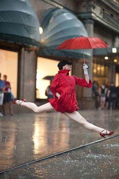 Inspiring image! Dancers among us - Annmaria Mazzini, Macy's Herald Square