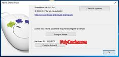 ShareMouse Full Crack With License Key Computer Network, Key, Unique Key