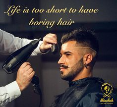 Men, log onto Dhinchek to get hair that bumps up the sex appeal! http://bit.ly/1Ulgnol #best #stylists#salon #online #appointment