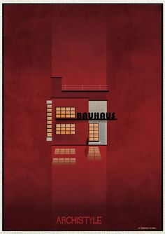Federico Babina beautifully illustrates a guide to architectural styles of the past few decades.