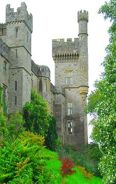 Lismore Castle in County Waterford, Ireland