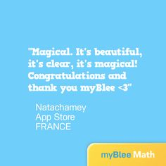 Learning can be magical! #myBlee