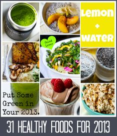 31 healthy foods to add to your diet in 2013