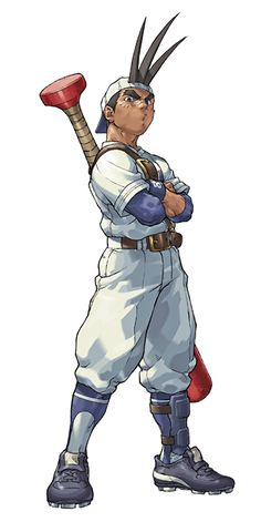 hidefromthesky:    My favorite fighting game character, ever.    Must be jin´s grandparent
