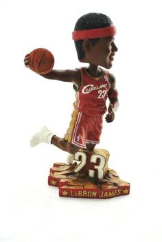 Lebron James Official NBA #23 dunking action Bobble Head Cleveland Caveliers