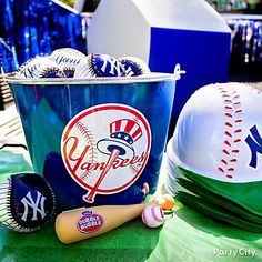 Team baseballs make great party favors and are perfect for tense plays.