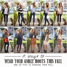 lenore lamé: how to wear booties