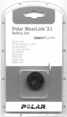 Polar Battery WearLink+ heart rate monitor accessories grey by Polar. $20.40. It couldn't be easier to change the battery in your Polar product. This set includes a CR2025 battery and a battery cover with sealing ring for easy and quick replacement.Compatible Products:*Polar WearLink Transmitter Nike+*WearLink+ Transmitter W.I.N.D.*WearLink+ Transmitter