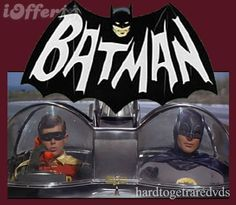 Batman  TV Show. Adam West will always be Batman to me. All the others are imitation. Kids learned that crime doesn't pay even though there are cool criminals with neurotic brains. No special effects here. No darkness of Tim Burton here. Only the simple love of a comic strip brought to life.