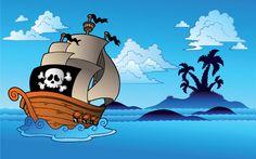 Explicación de haber y estar con una actividad online divertida para practicar. El pirata Barba morada