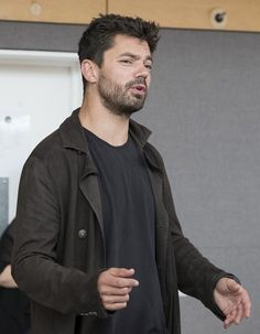 The Libertine starring Dominic Cooper in rehearsals. Image credit: Alistair Muir