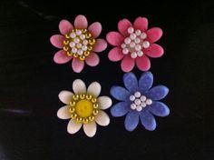 Flores de fondant
