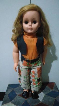 boneca antiga - lindabel - estrela - anos 70