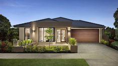 Проект жилого дома с партером, гаражом для одного автомобиля и летней террасой , Aspen-100391