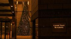 Condé Nast Publishing Building around the Holidays!