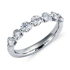 Classic Floating Diamond Ring in Platinum (1 ct. tw.) | Blue Nile