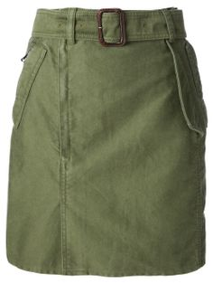 3.1 Phillip Lim Military Style Skirt - Bungalow-gallery - Farfetch.com