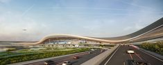 Second winning proposal for Taiwan Taoyuan International Airport by UNStudio