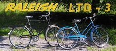 RALEIGH LTD-3. Three speeds are all you need Down market, no-frills version of the Sport