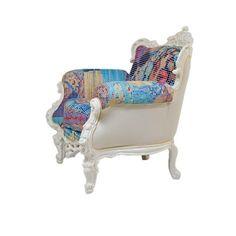 ARMCHAIR Kare Design Amorosa White 4828zł Kare Design, Armchair, Interior, House, Furniture, Home Decor, Sofa Chair, Single Sofa, Decoration Home