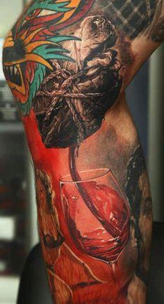 Realism Tattoo by Dmitriy Samohin. Awesome