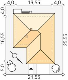 Kiwi 3 projekt domu - Jesteśmy AUTOREM - DOMY w Stylu Kiwi, New House Plans, New Homes, House Design, How To Plan, Plate, Moonlight, Country Houses, Future House