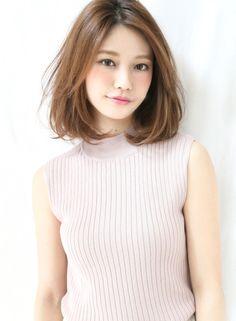 生っぽロブ(髪型ボブ)