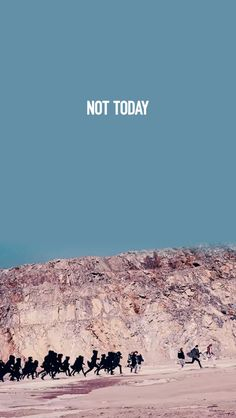 BTS    BTS Wallpapers    Not Today    You Never Walk Alone