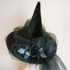 Black Magic Woman Witch Hat