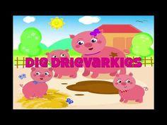 DIE DRIE VARKIES - YouTube Afrikaans Language, Homeschool, Homework, Youtube, Afrikaans, Homeschooling, Youtubers, Youtube Movies